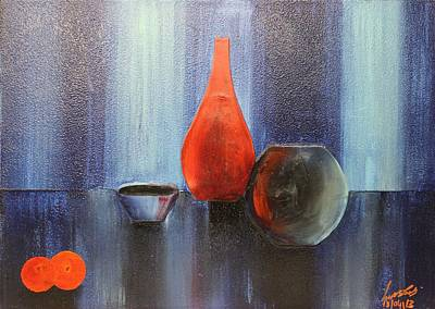 Painting - Acrylic 3d Msc 009 by Mario Sergio Calzi
