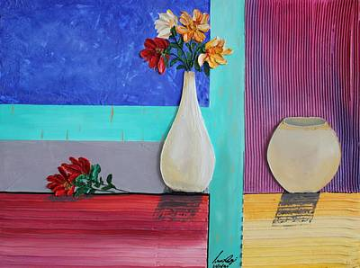 Painting - Acrylic 3d Msc 011 by Mario Sergio Calzi