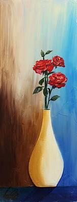 Painting - Acrylic 3d Msc 018 by Mario Sergio Calzi