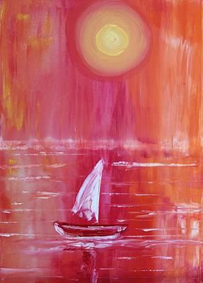 Painting - Acrylic Msc 019 by Mario Sergio Calzi