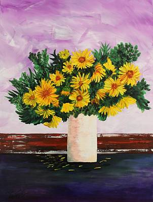 Painting - Acrylic Msc 027 by Mario Sergio Calzi