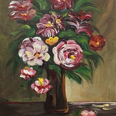 Painting - Acrylic Msc 032 by Mario Sergio Calzi
