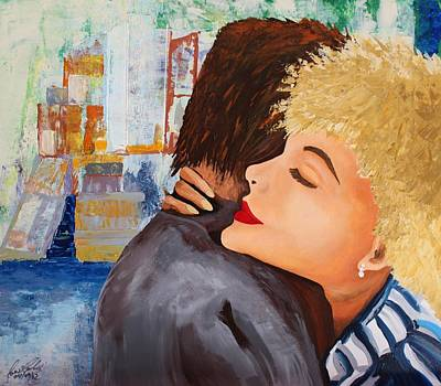 Painting - Acrylic Msc 052 by Mario Sergio Calzi