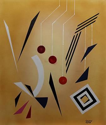 Painting - Acrylic Msc 086 by Mario Sergio Calzi
