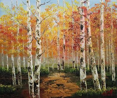 Painting - Acrylic Msc 106 by Mario Sergio Calzi