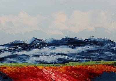 Painting - Acrylic Msc 113 by Mario Sergio Calzi