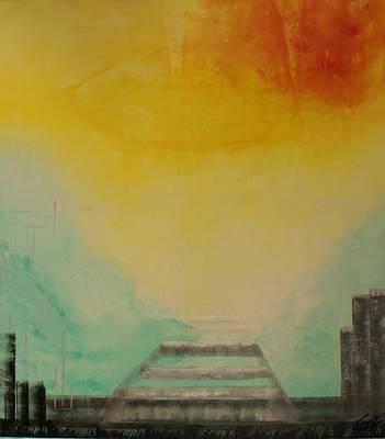 Painting - Acrylic Msc 121 by Mario Sergio Calzi
