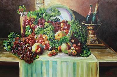 Painting - Acrylic Msc 128 by Mario Sergio Calzi