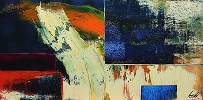 Painting - Acrylic Msc 129 by Mario Sergio Calzi