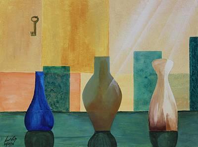 Painting - Acrylic Msc 145  by Mario Sergio Calzi