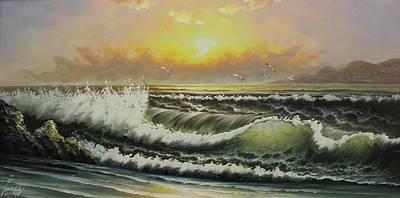 Acrylic Msc 148 Art Print