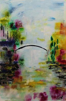 Painting - Acrylic Msc 152 by Mario Sergio Calzi