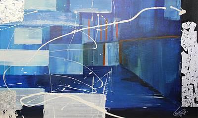 Painting - Acrylic Msc 161 by Mario Sergio Calzi