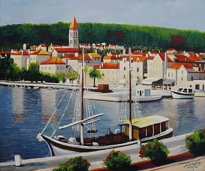 Painting - Acrylic Msc 165 by Mario Sergio Calzi