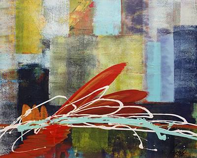 Painting - Acrylic Msc 170 by Mario Sergio Calzi