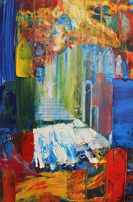 Painting - Acrylic Msc 176 by Mario Sergio Calzi