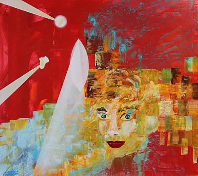 Painting - Acrylic Msc 211 by Mario Sergio Calzi
