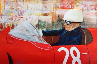 Painting - Acrylic Msc 214 by Mario Sergio Calzi