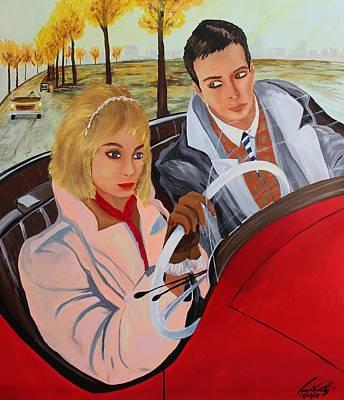 Painting - Acrylic Msc 215 by Mario Sergio Calzi