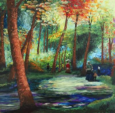 Acrylic Msc 217 Art Print