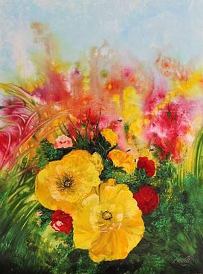Painting - Acrylic Msc 218 by Mario Sergio Calzi