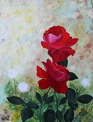 Painting - Acrylic Msc 224 by Mario Sergio Calzi