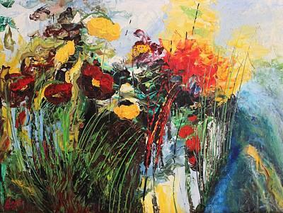 Painting - Acrylic Msc 230 by Mario Sergio Calzi
