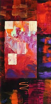 Painting - Acrylic Msc 244 by Mario Sergio Calzi
