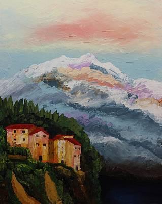 Painting - Acrylic Msc 250 by Mario Sergio Calzi
