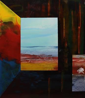 Painting - Acrylic Msc 252 by Mario Sergio Calzi