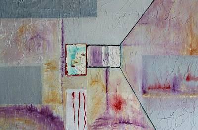 Painting - Acrylic Msc 254 by Mario Sergio Calzi