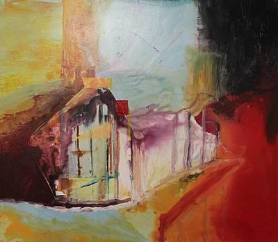 Painting - Acrylic Msc 262 by Mario Sergio Calzi