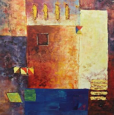 Painting - Acrylic Msc 270 by Mario Sergio Calzi