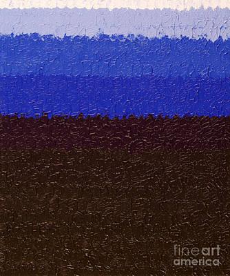 Painting - Acrylic Sea by Lara Morrison