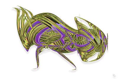 Digital Art - Acting Bug by Warren Lynn