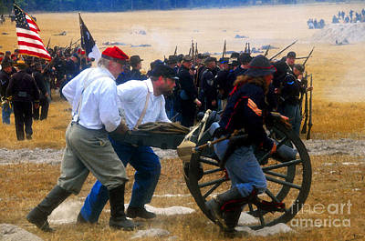 Action At The Front Art Print by David Lee Thompson