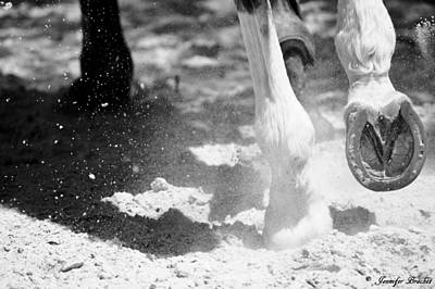 Galop Photograph - Action by Jennifer Brachet
