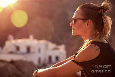 Photograph - Active Traveler Girl by Anna Om