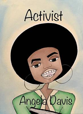 Painting - Activist by Deborah Carrie