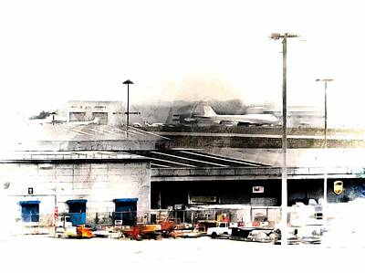 Photograph - Activity At Stansted Airport by Dorothy Berry-Lound
