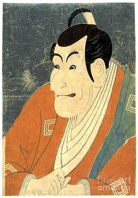 Photograph - Actor Ichikawa Ebizo 1794 by Padre Art