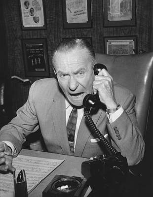 Television Program Photograph - Actor William Demarest by Underwood Archives