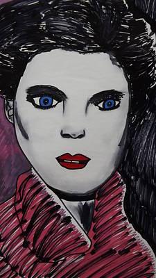 Actress 1 Art Print