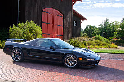 Lady Bug - Acura NSX At the Winery by Dave Koontz