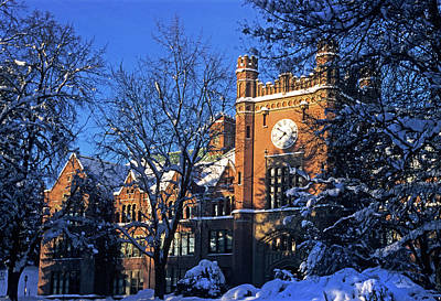Photograph - Ad Bldg Winter by Doug Davidson