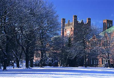 Photograph - Ad Bldg Winter II by Doug Davidson