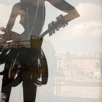 Photograph - Ad Stand Reflection by Igor Kislev