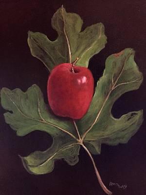 Adam And Eve Original by Randy Burns