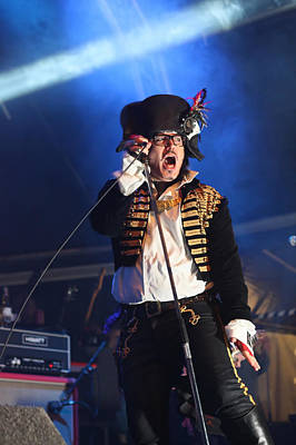 Adam Ant Photograph - Adam Ant On Stage by Jordan Russell