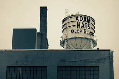 Photograph - Adam Hats - Deep Ellum Architecture - Dallas Sepia Edition by Gregory Ballos